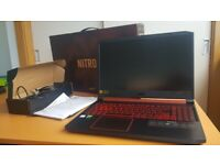 Nitro 5 AN515-54 15.6inch; Gaming Laptop (like new)