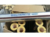 6 x 1mtr Kingspan Kooltherm Pipe Insulation 20mm wall 27mm bore Foil Faced