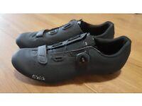 Fizik Tempo R5 Overcurve 44 9.5 Mens Road Cycling Shoes Black