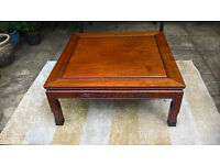 A Vintage Rosewood Coffee Table