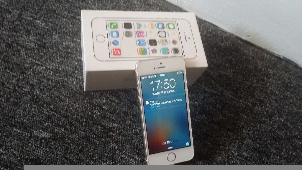 iphone 5s 16gb gold good condition fully working on O2 giffgaff networkin Barking, LondonGumtree - iPhone 5s 16gb gold very good condition brand new screen so no marks or scratches fullu functional on O2 giffgaff networks but easy and cheap to unlock coming in the box with charger and user manuals. very low price grab the bargain 07588711887