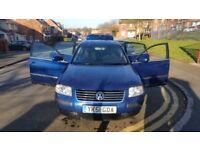 Volkswagen Passat 2001 diesel 1.9 manual 10 months mot