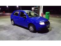 2003 03 SKODA FABIA CLASSIC 1.2 MOT JULY ONLY 77.000 MILES GREAT EXAMPLE £475