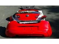 Vauxhall corsa e rear end