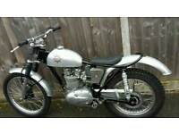 BSA B40 Pre 65 Trials bike