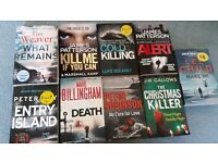 New release crime fiction books