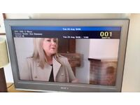32Inch Sony BRAVIA HD Freeview TV.Excellent working order.