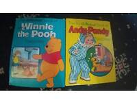 Winnie The Pooh and Andy Pandy Annuals