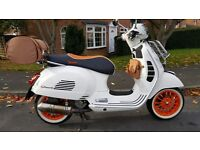 VESPA GTS 300 i.e. SUPER, IMMACULATE!, WITH LOVELY EXTRAS, MUST BE SEEN!, DELIVERY & CARD PAY OK