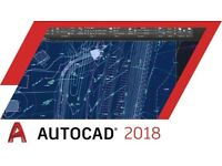 AutoCAD 2018 for Windows / Macbook / Imac
