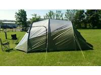 Outwell Dusk 5 tunnel tent plus accessories