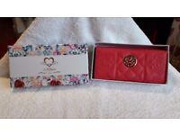 Moda Fuschia Coloured Ladies Purse - Brand New In Box