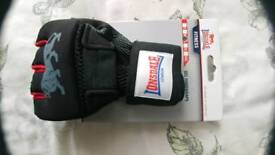 Brand new Lonsdale Fitness Gel Handwrap gloves
