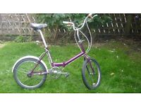 Universal folding bike (handbuilt GB).