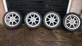 "17"" BK Racing Alloys"