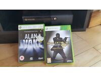 Xbox 360S 500GB Boxed with Controller and two Games - 007 Legends and Alan Wake