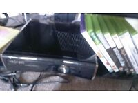 Xbox 360 S 250 GB + Kinect + 2 controllers + 11 top games + cables! Perfect condition