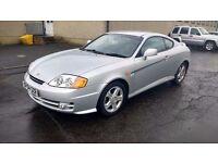 hyundai coupe s 1.6 petrol manual 2004 04 plate metallic silver alloys
