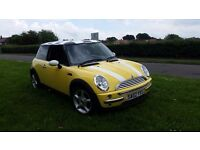 2002 Mini Cooper 1.6 peterol manual 115BHP, 12 months MOT