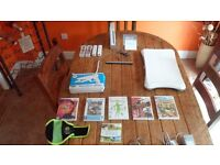 wii,console with games and other extras, excellent condition.
