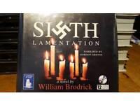 THE SIXTH LAMENTATION - WILLIAM BRODRICK - 12 CD AUDIOBOOK UNABRIDGED AUDIO BOOK
