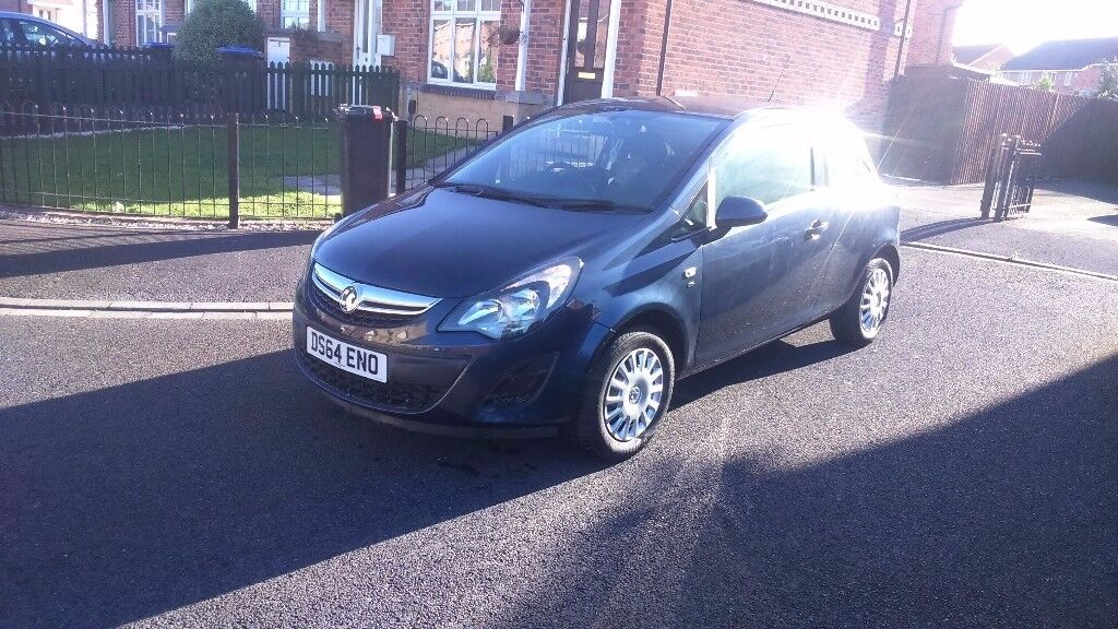 31/12/14 VAUXHALL CORSA 1.2 AIR/CON ONLY 9700 MILES!!!