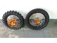 KTM 65cc 2016 set of spare wheels brand new ( TALON )