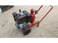 lister diesel water pump