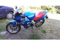 YAMAHA SZR660 6,000 MILES! TERMIGNONI, WP SHOCK FULLY SERVICED NEW S21s+ 20 LTRS OF OIL REALLY NICE!