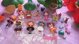Lalaloopsey dolls , figures and playsets