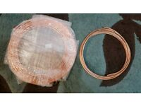 14 metres in total of 10mm & 8mm copper pipe..