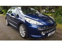 2008 Peugeot 207 top spec low miles!!! Not fiesta corsa 206 clio golf