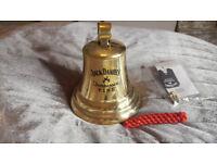brass pub bell