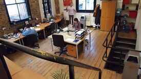 Trendy Office Space to share in Perseverance Works, Shoreditch