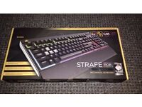 BRAND NEW AND SEALED CORSAIR STRAFE RGB MX SILENT KEYBOARD