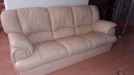 Stone colour 3 + 2 seater sofas