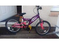 Good condition girls 20 inch bike