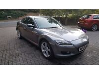 Mazda RX8 (2003) 6-speed manual 231bhp - low mileage and long MOT - need quick sell