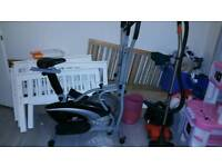2 in 1 excersise bike and cross trainer
