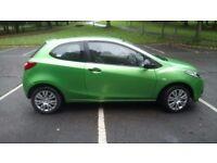 Mazda 2, 1.3 petrol, 3 door, excellent condition, 66900 miles