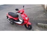 Moped TGB 303 R Automatic petrol