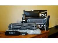 RODE ntg3 microphone bundle