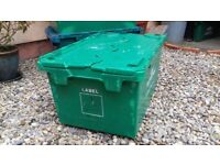 Strong storage/ removal crates. 4 for £30