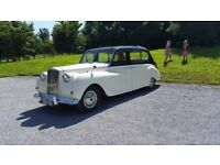 1958 Austin Princess Vander Plas, automatic, tan interior 48000 miles, kept in garage,