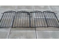 Driveway gates and posts