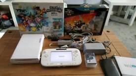 Nintendo wii u console +65 games
