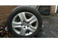 "VAUXHALL ZAFIRA 16"" ALLOYS"