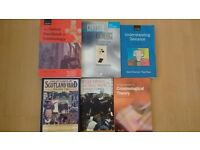 Criminology social policy books for a degree