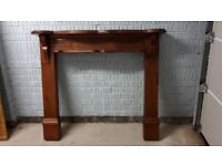 Fire Surround - Antique Pine - Solid Wood
