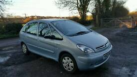 Citroen picasso with new mot